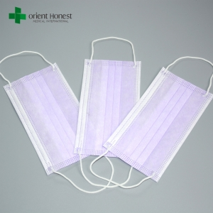 Anti-bactieria isolation mouth mask , fashion wind protection face mask producer , face mask surgical disposable 3Ply