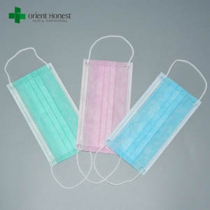China best factory for protective non woven mouth mask , surgeon hygiene mask , wholesale 3ply earloop facemasks