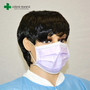 China best manufacturer for earloop face mask , disposable face masks for allergies , meidcal mask anti virus