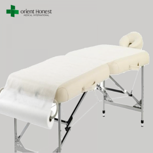 China factory hygienic disposable bed sheet roll for clinic, hospital, SPA use