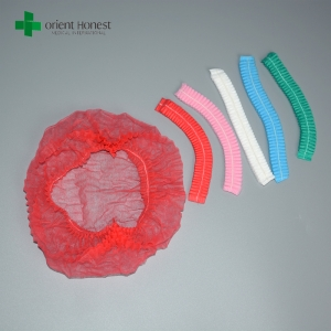 China isolation safety one time use non woven hair cap
