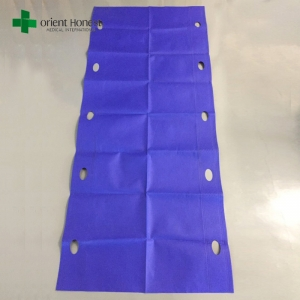 China manufacturer for hospital single-use non woven patient transfer slide sheet with FDA approved