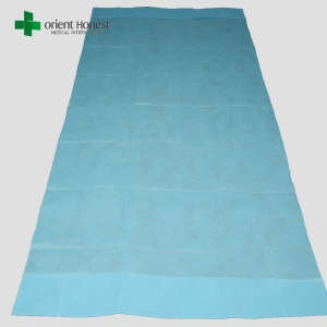 China manufacturers for nonwoven disposable fitted bed sheet , non sterile disposable cot sheet , ambulance stretcher sheet