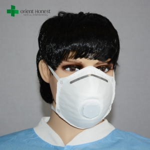 China supplier for protective dust cup mask , latex free disposable respiratory mask , industries n95 mask