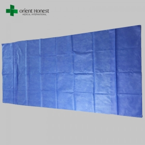 Chinese best factory for disposable stretchers sheet cover , non woven stretcher cot sheet , disposable bed sheets