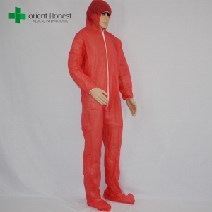 Chinese exporter for safe anti-virus coverall,the best factory disposable SMS coverall,manufacturers for safety disposable coverall