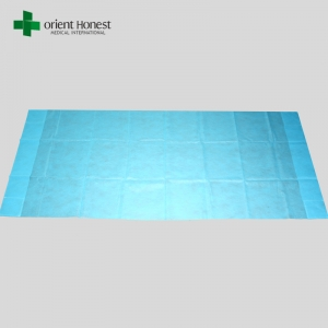 Disposable ambulance sheet , single use fitted cot sheets , disposable medical sheet