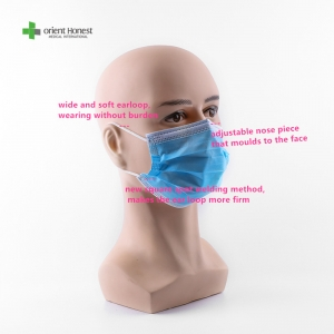 Disposable face mask type IIR