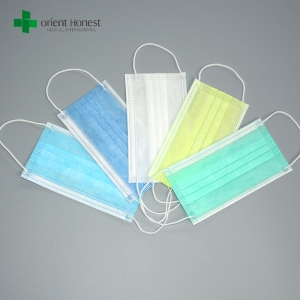 Polypropylene facemasks manufacturers , latex free surgeon mouth covers , dentist face-masks manufacturer