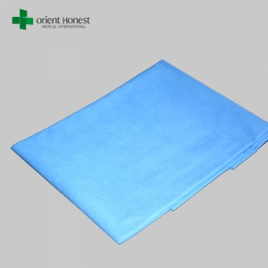 Polypropylene hospital draw sheet , soft and breathable disposable table sheet , disposable examination bed sheet