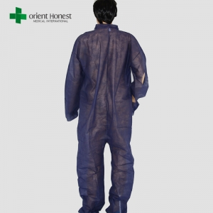 Wholesaler Personal Touch Universal Size Blue Disposable Isolation Gowns in China