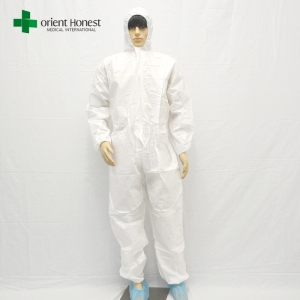 disposable coverall white,disposable coverall with hood,disposable coverall type 5 non woven