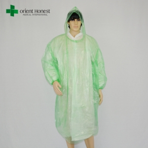 disposable rain coat ponchos,clear plastic rain poncho plants,hooded disposable rain ponchos