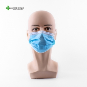China 3 ply ear loop disposable surgical face mask factory
