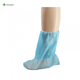 China Anti skip disposable PP non woven boots cover factory