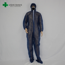 China CE/ISO functional protective coverall,China supplier for disposable full-body coveralls,disposable hospital protective overalls factory