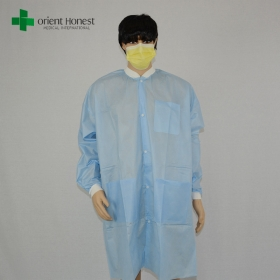 China China Hubei disposable antistatic lab coats,medical custom doctor lab coats,the best factory for lab  coat disposable factory