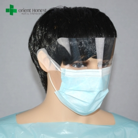China China best manufacturers for face mask with splash shield , face mask with eye shield , anti-splash IIR face mask with visor factory