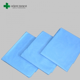China China best supplier for square disposable hygienic bed sheet , blue bed sheet with flat style , sms flat bed sheet for hospital factory