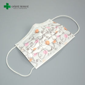 จีน China disposable hygienic medical child face mask wholesale with FDA CE ISO13485 certificates โรงงาน