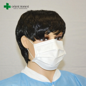 China China disposable non woven surgical breathing ear loop medical mask suppliers exporter