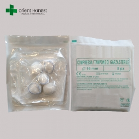 China China disposable sterile medical cotton ball manufacturer factory