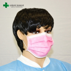 China China exporters for industries mouth mask , simple ear loop face mask , fashionable surgical masks factory