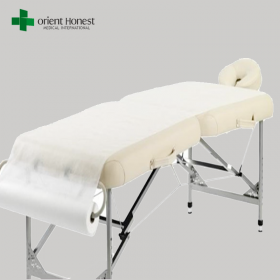 China China factory hygienic disposable bed sheet roll for clinic, hospital, SPA use factory