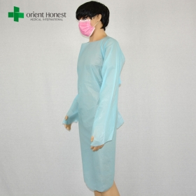 China China manufacturer disposable cpe surgical gowns,disposable dental gowns supplier,disposable dressing gowns for medical factory