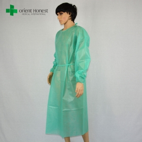 China China manufacturer disposable operating gowns ,disposable non-sterile surgical gown,PP+PE disposable surgical gown factory