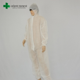 China China manufacturer for white coverall of PP ,disposable non-woven painters workwear,coverall suit disposable for sales factory