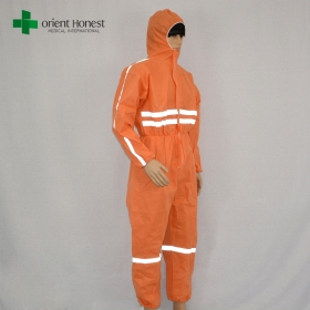 China China supplier construction workwear overalls,colorful coverall non woven,China plant for bright colored overalls factory