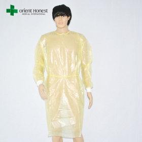 China China supplier for disposable dental gowns , disposable dressing gowns , disposable exam gowns factory