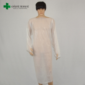 China China vendor CPE disposable surgical clothing,disposable CEP surgeon gown,wholesale CPE disposable hospital gowns factory
