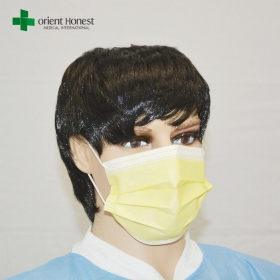 China Chinese best suppliers for medical surgical earloop face mask , nonwoven face mask , breathing filter mask factory