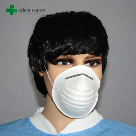 China Chinese factory for non woven disposable dust mask , cone dust mask , paper dust mask factory