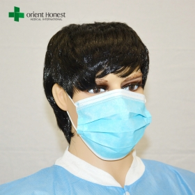 China Chinese workshop for disposable medical mask , hospital disposal mask , 3ply surgery face mask factory