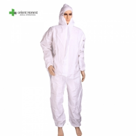 China Disposable Coverall protective suit direct manufacturer factory