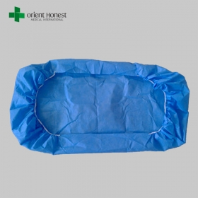 China Disposable Fitted Bed Sheet with Elastic factory