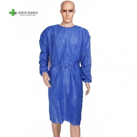 China Disposable Non Woven isolation gown factory