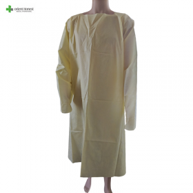 China Disposable SMS isolation gown AAMI Level 3 standard factory