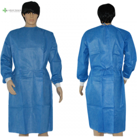 China Disposable SMS isolation gown factory