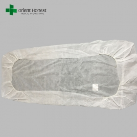 China Disposable bed sheets for clinic , PP disposable medical bed sheets , medical sheet for bed factory