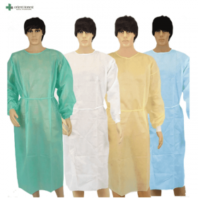 China Disposable isolation gown factory