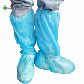 China Disposable non woven boot cover medical manufacturer factory