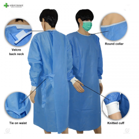 China Disposable surgical gowns factory