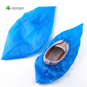 China Disposable waterproof plastic Protective Shoes Cover factory