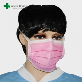 China Manufacturer for anti-virus three layers face mask , BFE99 surgical masks , nonwoven mask factory