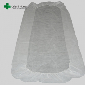 China Manufacturer for disposable bed sheets hotel with elastic in 2 ends , flame resistant hospital rubber sheet , disposable bed sheets sale factory