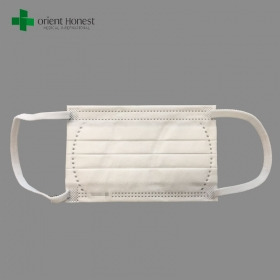 China NELSON approved BFE99 disposable nonwoven medical child face mask with small size 125 80MM factory